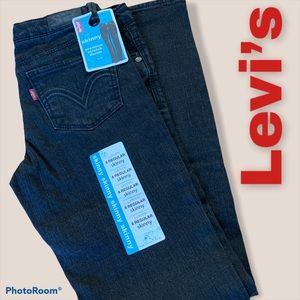 Levi's Skinny Stretch Black Jeans Sz8